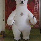 Free Shipping Inflatable Polar Bear for Adult Halloween costume