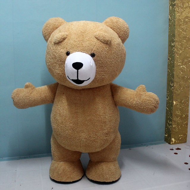 Free Shipping Inflatable Teddy Bear For Adult Halloween Costume