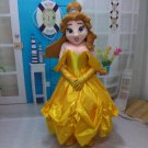 Free Shipping Beauty and the beast Bella mascot costume adult Princess costume