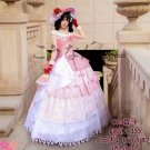 Free Shipping Lovelive Ball Gown Nico Yazawa  Awaken Cosplay Costume Party Palace Full Dress