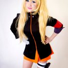 Free Shipping Naruto The Movie The Last-Uzumaki Naruto Female Anime Cosplay Costume