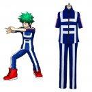 Free Shipping Boku no Hero Academia Cosplay Costume My Hero Academia Izuku Midoriya Training Suit