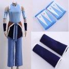 Free Shipping The Legend of Korra Avatar Korra cosplay costume