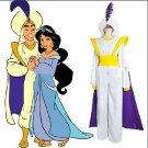 Free Shipping Aladdin Lamp Prince Aladdin Cosplay Costume Custom Made