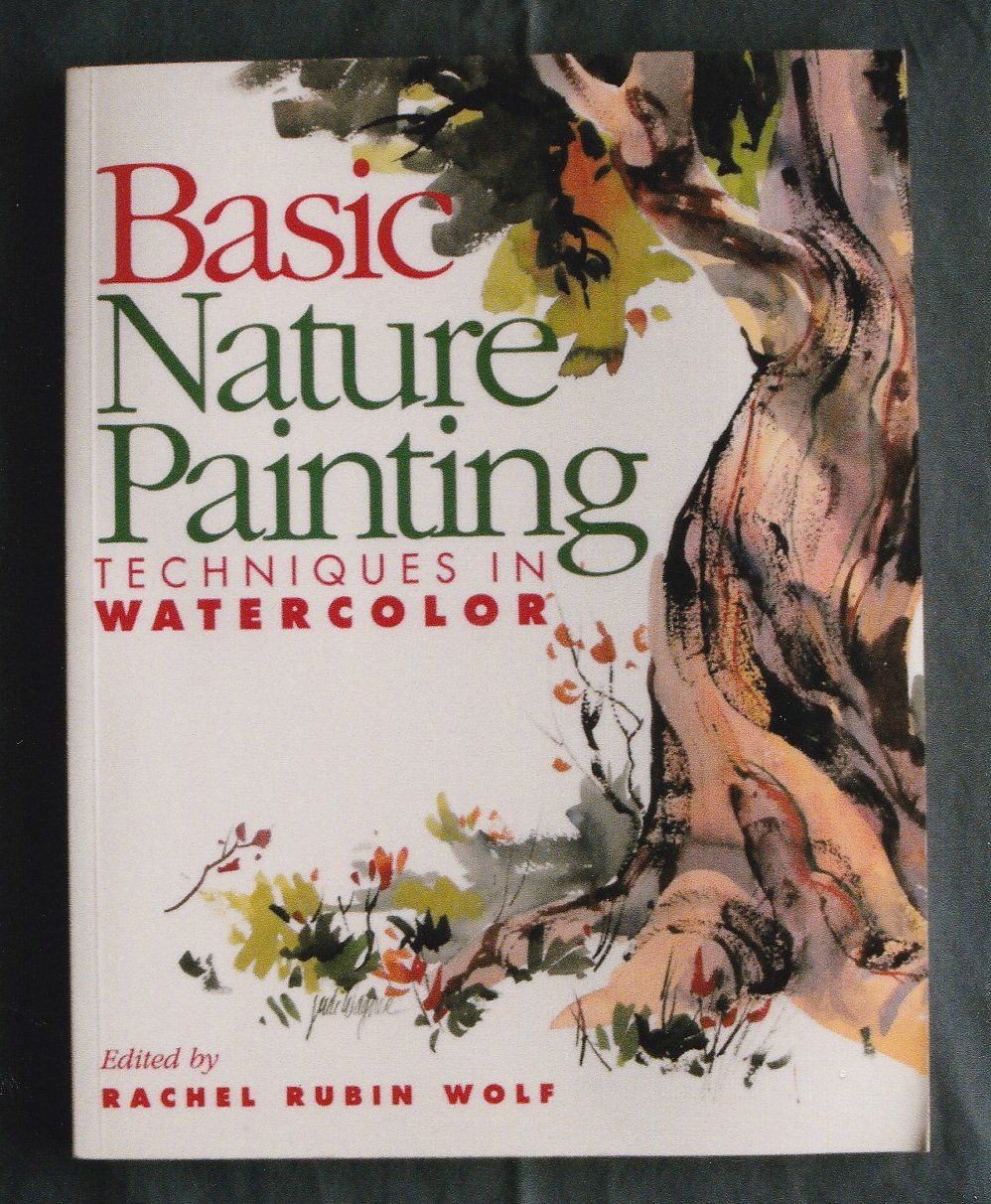 Book Cover Watercolor Painting ~ Basic nature painting techniques in watercolor paperback book