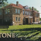 Stone County Courthouse Postcard Arkansas Chrome