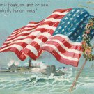 Decoration Day Postcard Vintage Raphael Tuck American Flag
