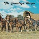 Conestoga Wagon Postcard Horses Prairie Schooner