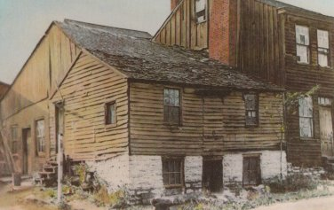 Huckleberry Finn House Postcard Hannibal Missouri