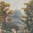 Ceylon Postcard Raphael Tuck Antique Scenic Adam's Peak