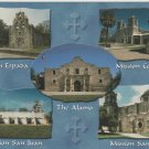 Two Postcards Missions Of San Antonio Texas