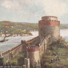 Raphael Tuck Postcard Constantinople Vintage Unposted Castle Scenic