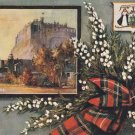 Tuck Postcard Edinburgh Castle Vintage Unposted