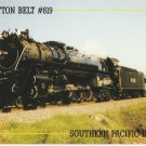 St. Louis Southwestern Railway Cotton Belt Route Postcard Locomotive #819