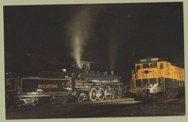 Blue Mountain & Reading Railroad #425 Postcard Locomotive Train