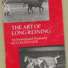 The Art of Long Reining PB Book Brochure Horses by Sylvia Stanier