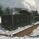 East Broad Top Railroad Locomotive No. 17 Postcard Train