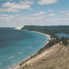 Empire Bluff Hiking Trail Overlook Postcard Lake Michigan