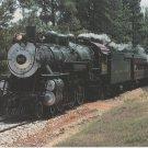 Texas State Railroad's Stem Locomotive No. 500 Train Postcard