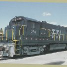 Transkentucky Transportation Railroad Locomotive #258 Train Postcard