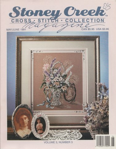 Stoney Creek Magazine May/June 1991 Cross Stitch Collection