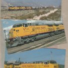 UNION PACIFIC RAILROAD Postcards Lot of 3 Trains