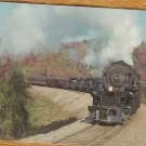 Norfolk and Western's Locomotive #1218 Postcard Railroad Train