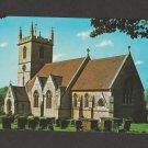 Postcard RPPC Color Parish Church Bladon, England Historic Building