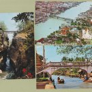 THAILAND BRIDGES RPPC Color Postcards Bangkod Siam
