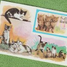 Postage Stamp KITTENS DOMESTIC CATS 1971 Ras-al-Khaima MNH