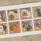 Republica de Guinea Ecuatorial Dogs MT NH Mini Souvenir Sheet Stamps