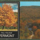VERMONT RPPC Postcards Lot of 4 Fall Colors Scenic Water Wheel