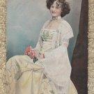 MISS GERTIE MILLAR Tuck's Post Card Actress Singer Glamour
