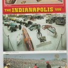 The Inidianapolis 500 Post Card Folder Classis Cars Hall of Fame