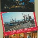 Jekyll Island Color Postcards Georgia Marina Riverview