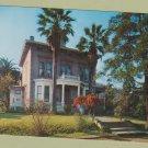 JOHN MUIR HOUSE Color Postcard Unused Historic Home California