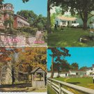 HISTORIC HOUSES Photo Postcards Buildings Lot of 6 Unused