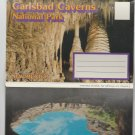 Carlsbad Caverns National Park Postcard Folder New Mexico Southwest