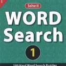 Word Search 1: ;100 Hard Word Search Puzzles [Jul 23, 2013] Leads Press