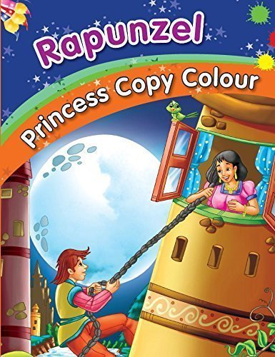 Rapunzel Colouring Book [Jul 16, 2014] Pegasus