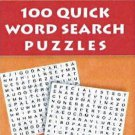 100 Quick Word Search Puzzles [Jul 24, 2012] Leads Press