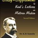A Study Supplement to Kent's Lectures on Materia Medica [Paperback] [Jun 30, ...