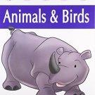 Animals & Birds (My Very First Preschool Book) [Paperback] [Apr 01, 2008]