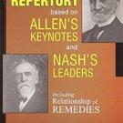 A Repertory Based on Allen's Key Notes and Nash's Leaders With Relationship