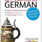 Get Started in German Absolute Beginner Course: The essential introduction