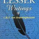 The Lesser Writings of C.f. Von Boenninghausen [Paperback] [Jun 30, 2007]