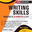 Writing Skills: Success in 20 Minutes a Day [Jan 30, 2009] Olson, Judith