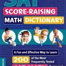 Kaplan SAT Score-Raising Math Dictionary: A Fun and Effective Way to Learn