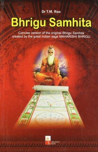 Bhrigu Samhita [Jun 30, 2009] Rao, T.M.