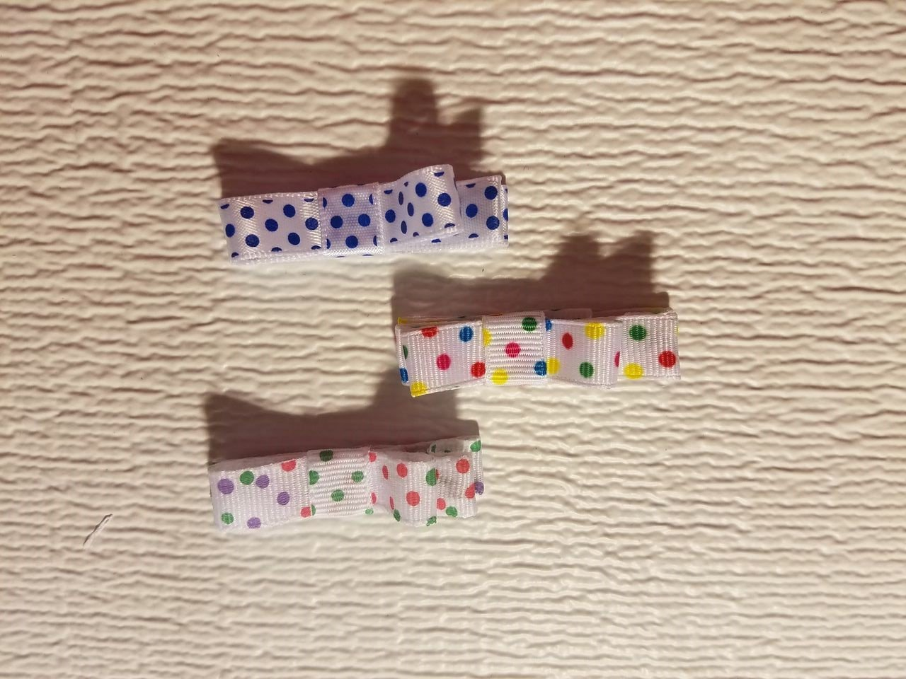 Infant/Child Hair Bow - Tiny Polka Dot Series